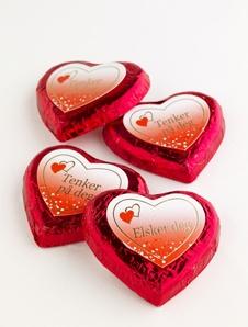 Sjokolade - enkle hjerter