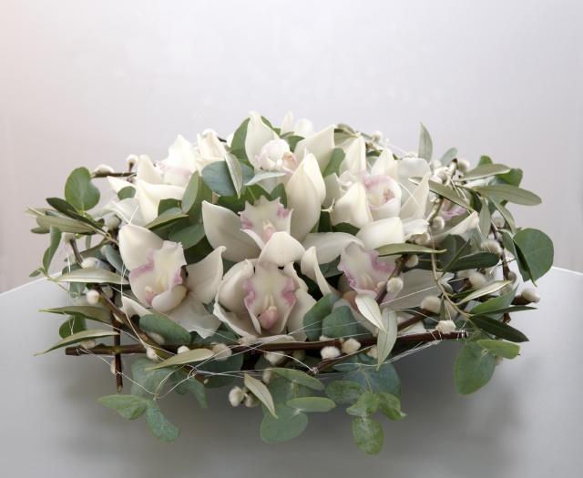 Dekorasjon med orkideer