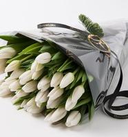 20 stk hvite tulipaner